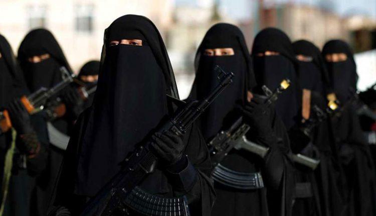 تحذيرات من نساء داعش - تعبيرية
