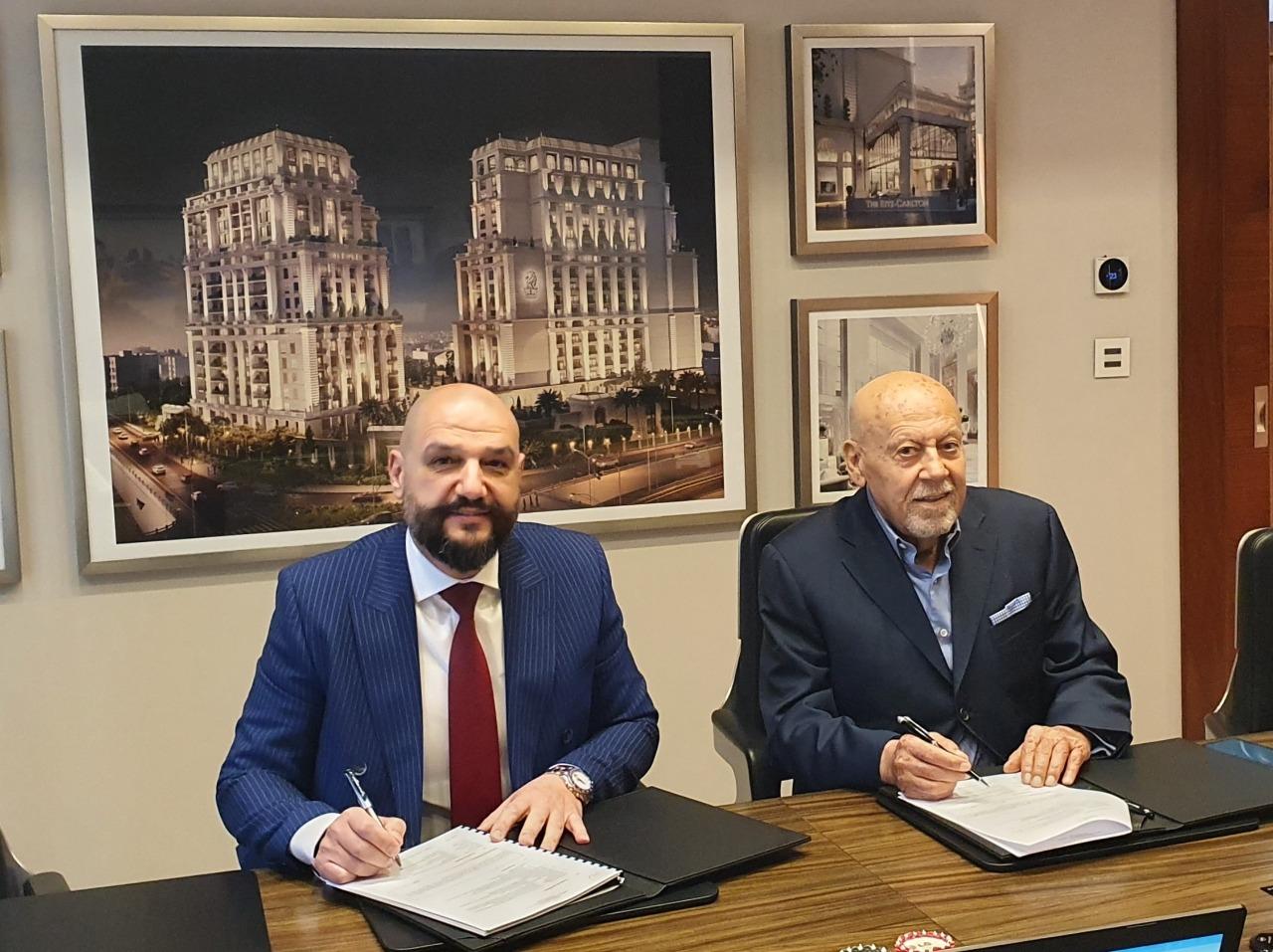 اتفاقية استراتيجية بين مجموعة  AVXAV  و إل جي للإلكترونيات مع شركة الإقبال للتطوير العقاري