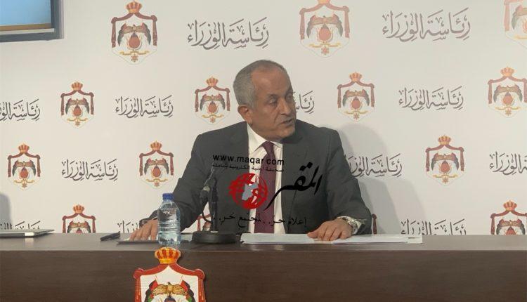 وزير الاعلام علي العايد