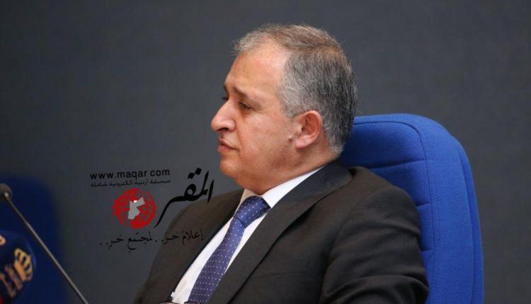 وزير العمل الدكتور معن القطامين