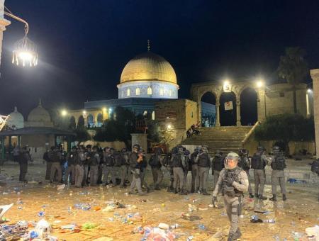 الأردن: اقتحام الحرم القدسي انتهاك صارخ وتصرف همجي مدان